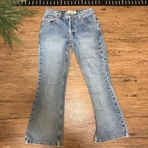 Vintage American Eagle Button Fly Jeans Flare